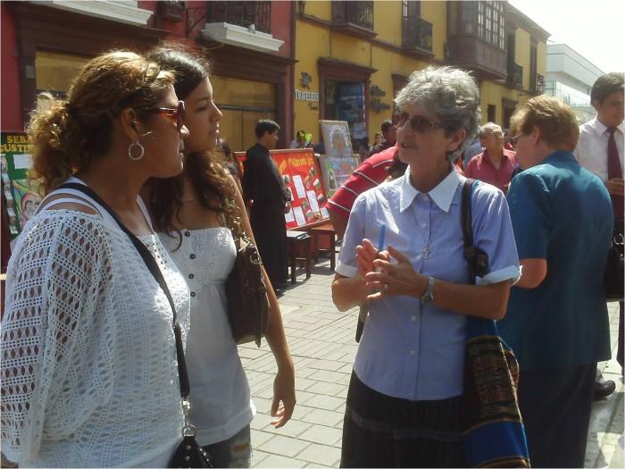 Sharing in Peru