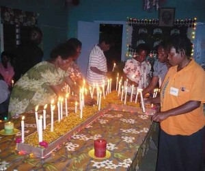 PNG Shalom Center candlelight