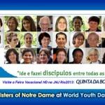 <!--:en-->Sisters of Notre Dame at World Youth Day <!--:--><!--:de-->Schwestern Unserer Lieben Frau auf dem Weltjugendtag<!--:--><!--:pt-->Irmãs de Nossa Senhora na Jornada Mundial da Juventude<!--:--><!--:ko-->세계 청소년 대회에 함께 한 노틀담 수녀회<!--:--><!--:id-->Berita-berita Terbaru<!--:-->