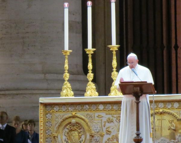 Prayer Vigil.  St. Peters Square, Sep. 7, 2013 (12)
