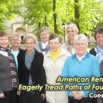 <!--:en-->American Renewal Group Eagerly Tread Paths of Founding Sisters<!--:--><!--:de-->Die amerikanische Erneuerungsgruppe auf den Spuren unserer Gründerinnen<!--:--><!--:pt-->Grupo de entusiastas Irmãs Americanas trilha os caminhos das fundadoras<!--:--><!--:ko-->미국 쇄신 그룹 창설자 수녀님의 자취를 가다<!--:-->