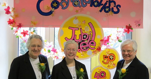 Jubilee Celebration at the Motherhouse