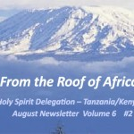 <!--:en-->Holy Spirit Delegation–Tanzania/Kenya: August Newsletter Volume 6 #2<!--:--><!--:ko-->성령대리구-탄자니아/케냐: 2014년 8월 소식지<!--:-->