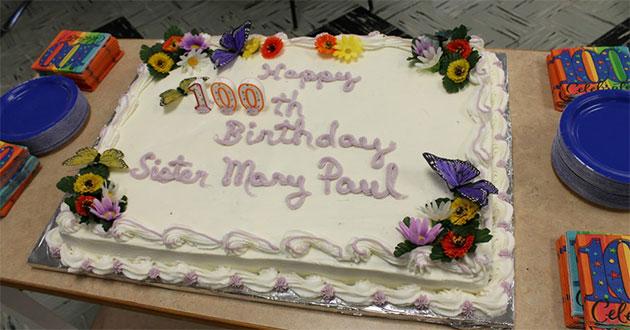 Covington Celebrates Sister Mary Paul Zembrodt's 100th Birthday, USA