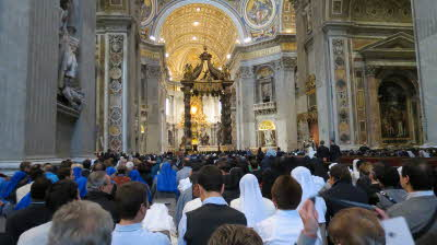 Opening Mass-Year of Consecrated Life (5)