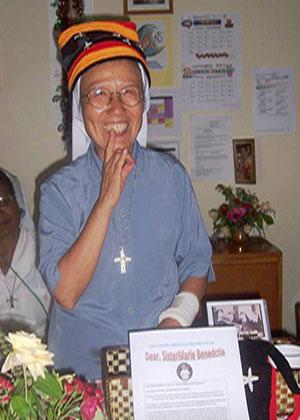 PNG Sisters Farwell Sister Marie Benedicta Sim from Korea