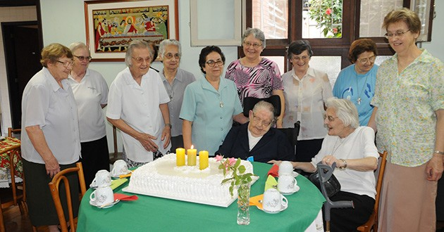 111 years of life and 87 years of Consecrated Religious Life