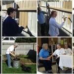 Dia de Serviço na Província de Covington, USA