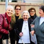 """Irmã Maria Hiltgardis : """" A vida me encanta"""""""
