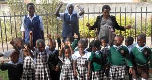 Four Novices Visit Uganda