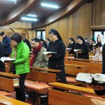 Die Klostertüren öffnen im Jahr des geweihten Lebens, Incheon, Südkorea