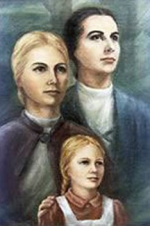 Hilligonde Wolbring and Elisabeth Kühling pictured with one of the poor girls they took into their home and their hearts *