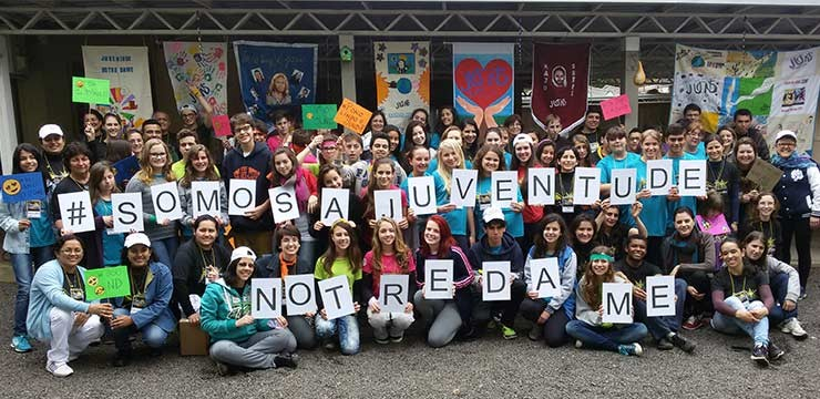 """Second meeting of """"Notre Dame Youth"""", Canoas, Brazil"""
