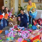 Ministry conducts campaign and donates toys for refugees, Passo Fundo, Brazil