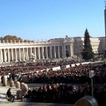Audience with Pope Francis, Rome, Italy
