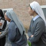 Abschied von Schwester Cormarie Rebhan, Rom, Italien