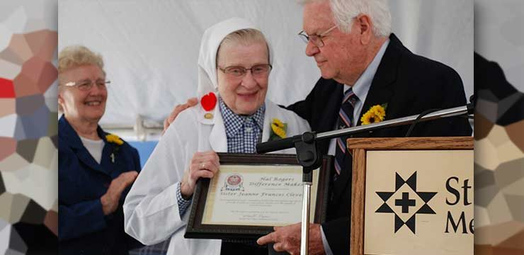 Sr. Mary Jeanne Frances: A Difference Maker, Covington, USA