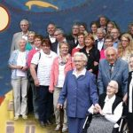 Sr.M.Anselma became 100 years old, Vechta, Germany