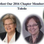 Meet Our 2016 Chapter Members: Toledo
