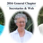 2016 General Chapter : Secretaries&Web