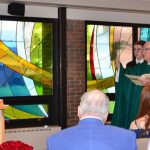 Annunciation Chapel dedicated at Notre Dame-Cathedral Latin School, Chardon, USA