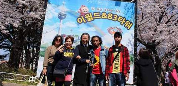 (English) Spring picnic with migrants, Suncheon, South Korea