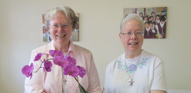 Double Celebration at the Motherhouse, Rome, Italy