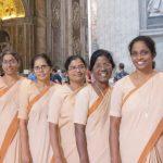 이태리, 로마, 인도 수녀들의 순례
