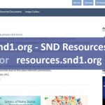 New Video updated in SND Resources: resources.snd1.org