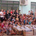 Zum zwölften Mal 'Konkrete Hilfe`! Passo Fundo, Brasilien