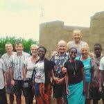 Italienische Missionare in Gorongosa, Mosambik