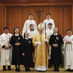 Final Profession in Regina Pacis Province, Korea, 2019