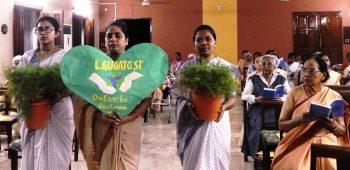 Perayaan Pekan Laudato SI' 2020, Provinsi Maria Diangkat Ke Surga, Patna