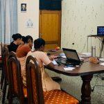 인도, 방갈로르, 온라인 신학 강의