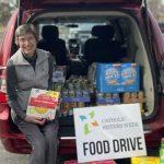 Semana da Vida Religiosa Feminina   Doação de Alimentos