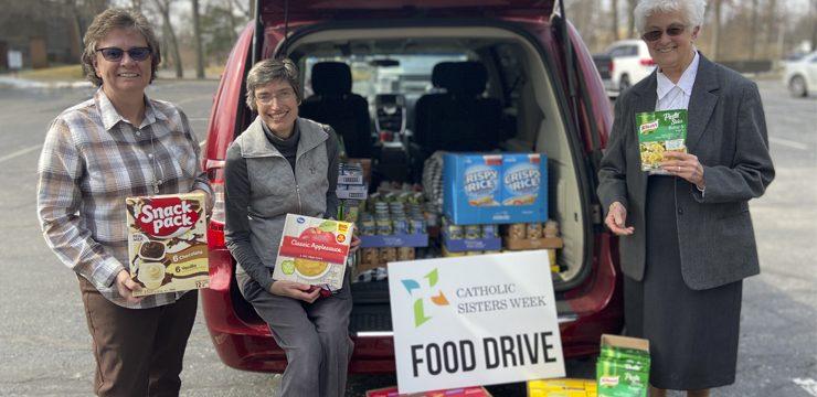 Catholic Sisters Week | Food Drive
