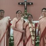 Sister Mary Prima's sharing on the celebration of Perpetual Vows- Patna, India
