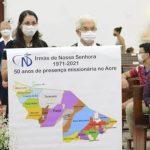 Danksagung für 50 Jahre SNDs im Amazonasgebiet, Acre, Brasilien