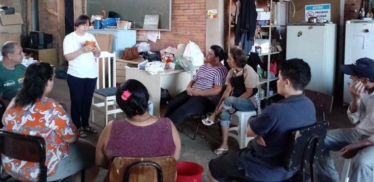 Transform-Action Project- JPIC initiatives that make a difference, Passo Fundo, Brazil