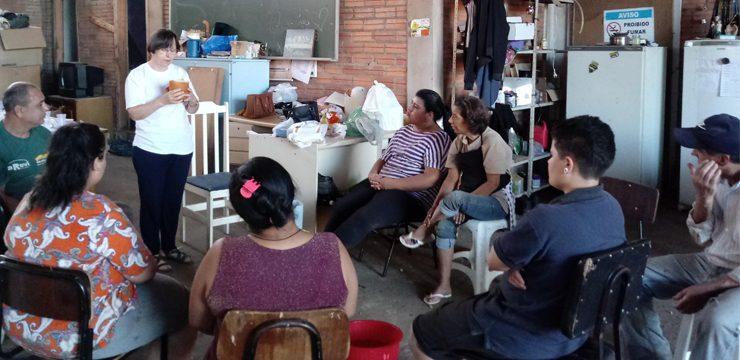 Transform-Action Project (Projekt zur Veränderung durch Handlung) – JPIC Initiativen zur Verbesserung des Lebens, Passo Fundo, Brasilien