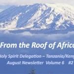 <!--:en-->Holy Spirit Delegation–Tanzania/Kenya: August Newsletter Volume 6 #2<!--:--><!--:ko-->성령대리구-탄자니아/케냐: 2014년 8월 소식지<!--:-->