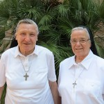 Visitors at the Motherhouse, Italy
