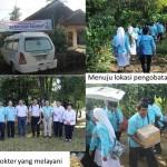 O Jubiliu de Rubi do Hospital Budi Rahayu, Pekalongan, Indonésia