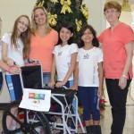 Recycling für Rollstühle für Behinderte, Passo Fundo, Brasilien