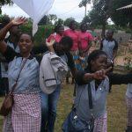 Funcionários Notre Dame Mwana Une Rukariro celebram o Dia Internacional do Trabalho!