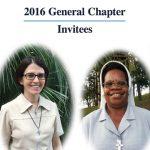 Generalkapitels 2016: Eingeladene Schwestern