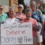이민법 개혁을 위한 커빙턴 수녀들의 행진