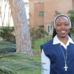 Herzlich willkommen, Schwester Mary Pascalia, Rom, Italien