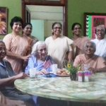 July 4th with Sister Mary Ann Gemingnani in Patna, India