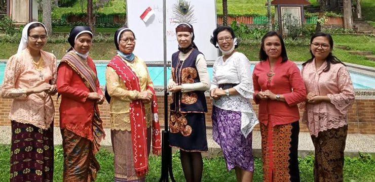 Feier zum Unabhängigkeitstag Indonesiens